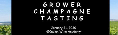 【1/21開催:ワイン業界関係者限定】第4回グローワー・シャンパーニュ合同試飲会 出展のお知らせ